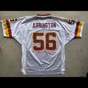 Lavar Arrington washington redskins Jersey nfl